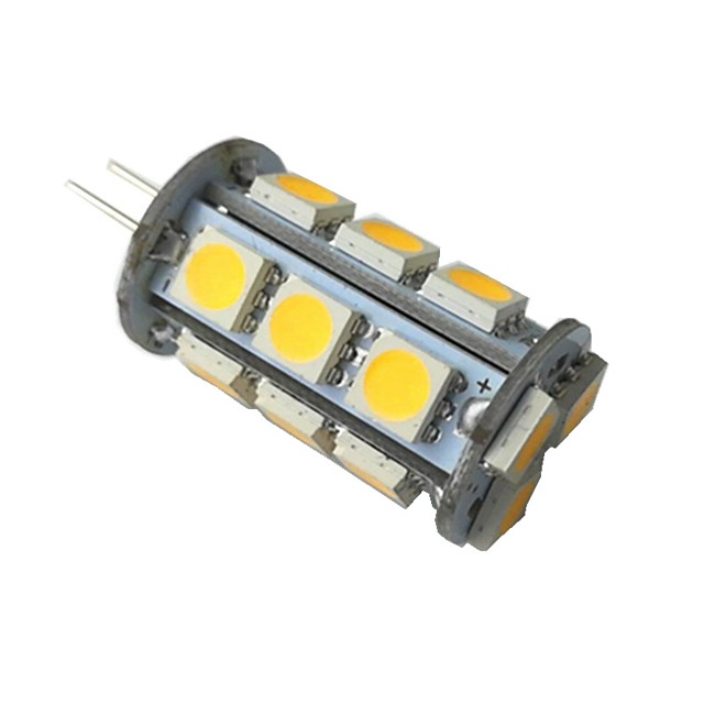 1pc 3 W LED à Double Broches 260 lm G4 18 Perles LED SMD 5050