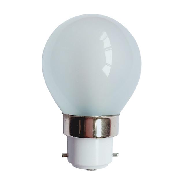 3 W Bulb LED Glob 90-100 lm B22 G45 25 LED-uri de margele SMD 3014 Alb Cald 220-240 V / # / RoHs