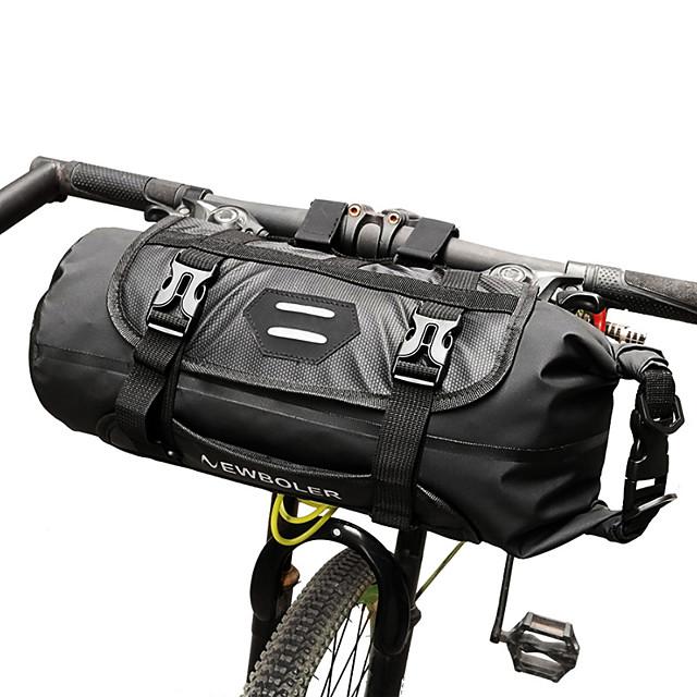 ROSWHEEL 3-7 L Sacca da manubrio bici Regolabile Ompermeabile Compatta Borsa da bici TPU Marsupio da bici Borsa da bici Ciclismo / Strisce riflettenti