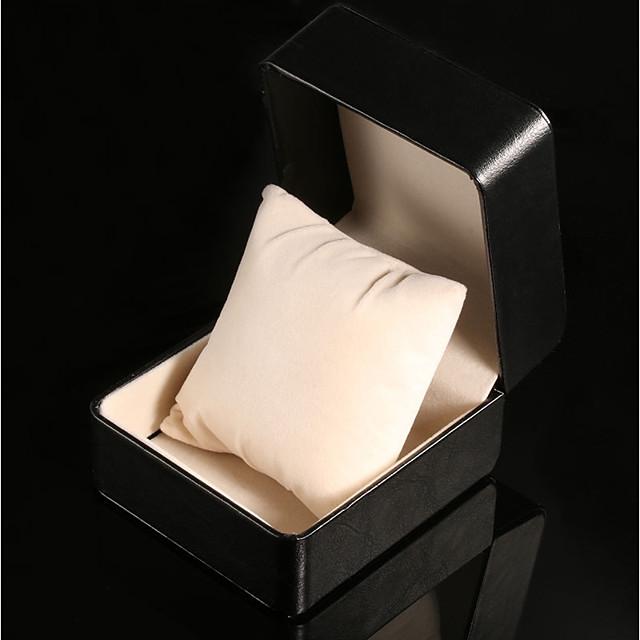 Boîtes de Montres faux cuir / Matériel mixte Accessoires de montres 0.08 kg 9*9*7 cm