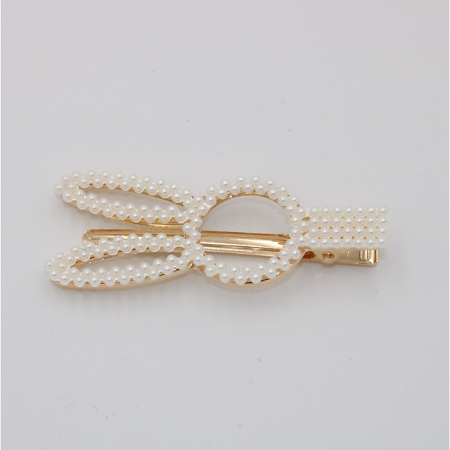 Femme Soirée Actif Le style mignon Imitation de perle Alliage Couleur Pleine