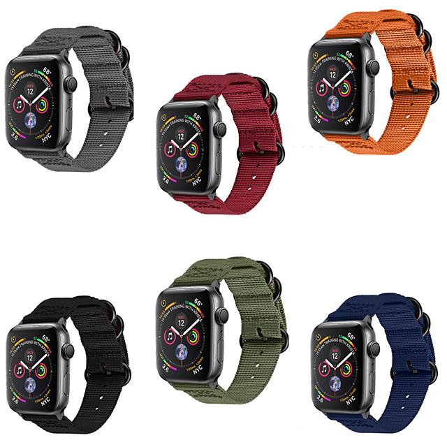 Ремешок для часов для Серия Apple Watch 5/4/3/2/1 Apple Современная застежка Нейлон Повязка на запястье