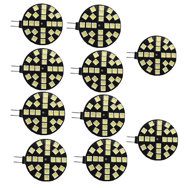10pcs 3.5 W Becuri LED Bi-pin 200 lm G4 24 LED-uri de margele SMD 5050