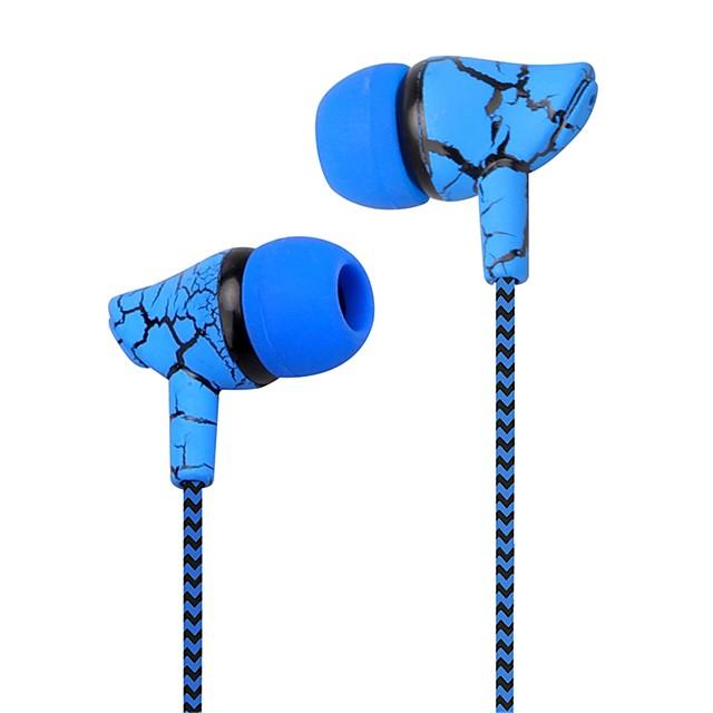 LITBest Cablu de intrare în ureche Cablu Dungi / Ripples Αθλήματα & Ύπαιθρος Cool Stereo Cu Microfon Telefon mobil
