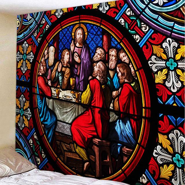 Klasični Tema Zid Decor 100% poliester Vintage / Tradicionalno Wall Art, Zidne tapiserije Ukras
