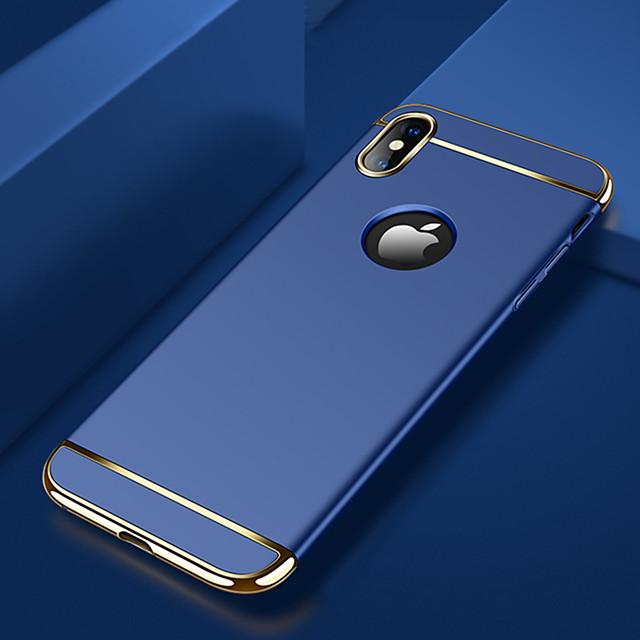 Coque Pour Apple iPhone XS / iPhone XR / iPhone XS Max Plaqué / Ultrafine / Dépoli Coque Couleur Pleine Dur PC
