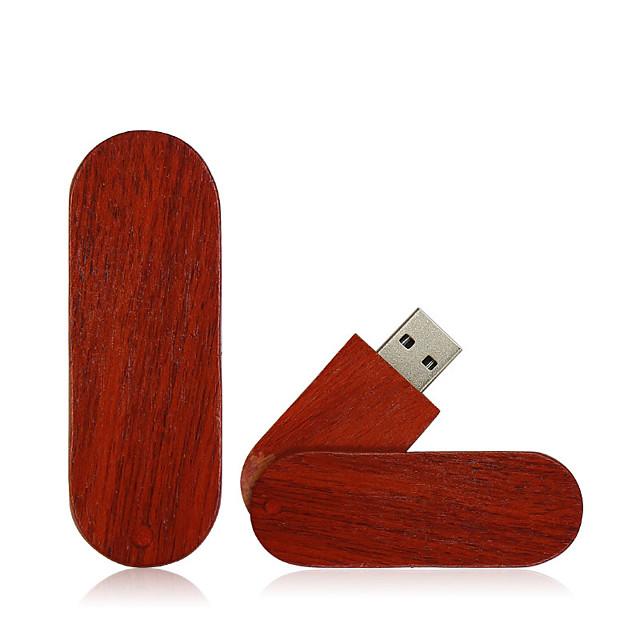 Ants 128GB clé USB disque usb USB 2.0 Bois / Bambou Irrégulier wooden U disk