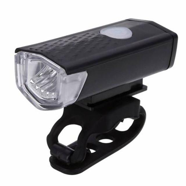 LED Luci bici Luce frontale per bici Fanale anteriore XP-G2 Ciclismo da montagna Bicicletta Ciclismo Impermeabile Modalità multiple Portatile Facile da applicare Litio-polimero 300 lm Batteria / ABS