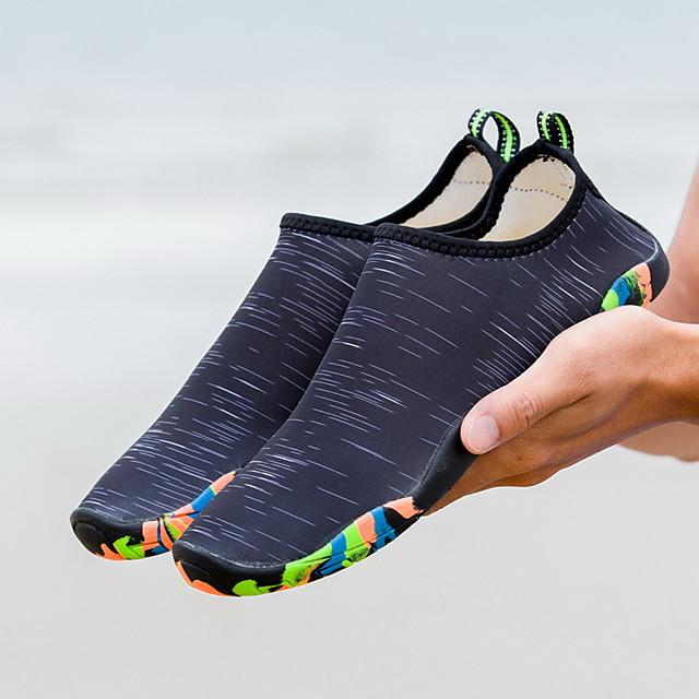 สำหรับผู้หญิง สำหรับผู้ชาย รองเท้าน้ำ การพิมพ์ ยาง แห้งเร็ว การว่ายน้ำ การดำน้ำ ท่อง ดำน้ำดูปะการัง ดำน้ำ - สำหรับ ผู้ใหญ่