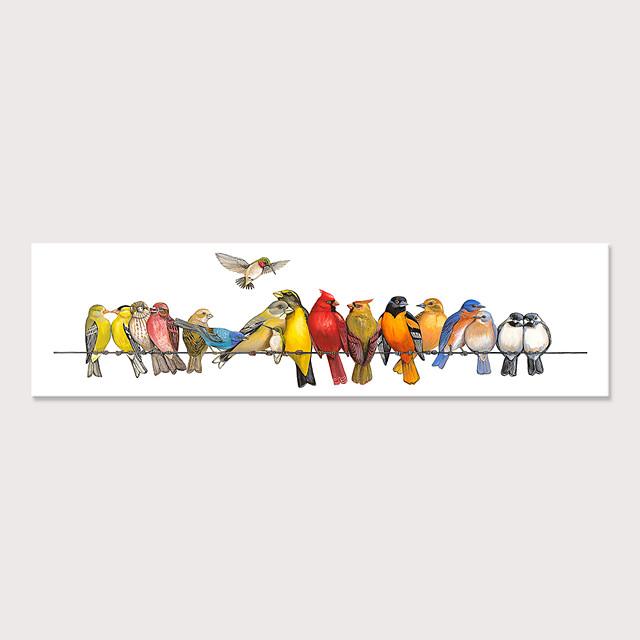 Imprimé Impressions sur toile roulées - Animaux Oiseaux Moderne Art Prints