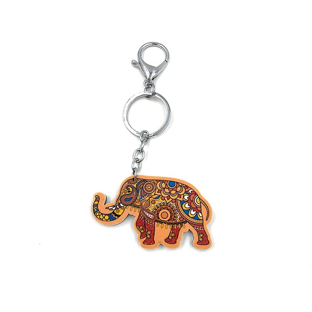 ELEPHANT GIFT SET BOOKMARK EARRINGS /& SMALL KEYRING SILVER PLATED ELEPHANTS NEW