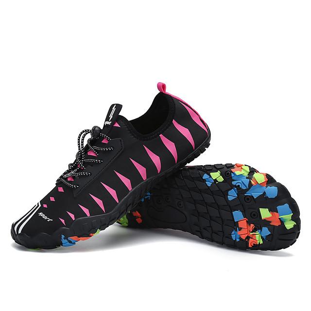 Femme Baskets Chaussures de Randonnée Poids Léger Respirable Antidérapant Multifonction Randonnée Marche Automne Eté Rose