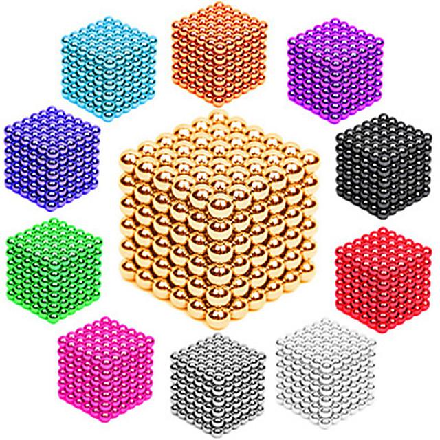 216/512 pcs 3mm / 5mm Jucării Magnet bile magnetice Lego Super Strong pământuri rare magneți Magnet Neodymium Magnet Neodymium Stres și anxietate relief Birouri pentru birou Reparații Adulți Băieți