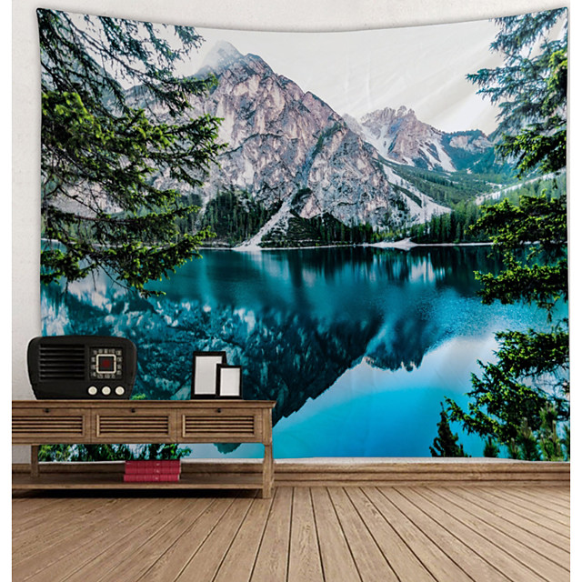Thème jardin Décoration murale 100 % Polyester Moderne Art mural, Tapisseries murales Décoration