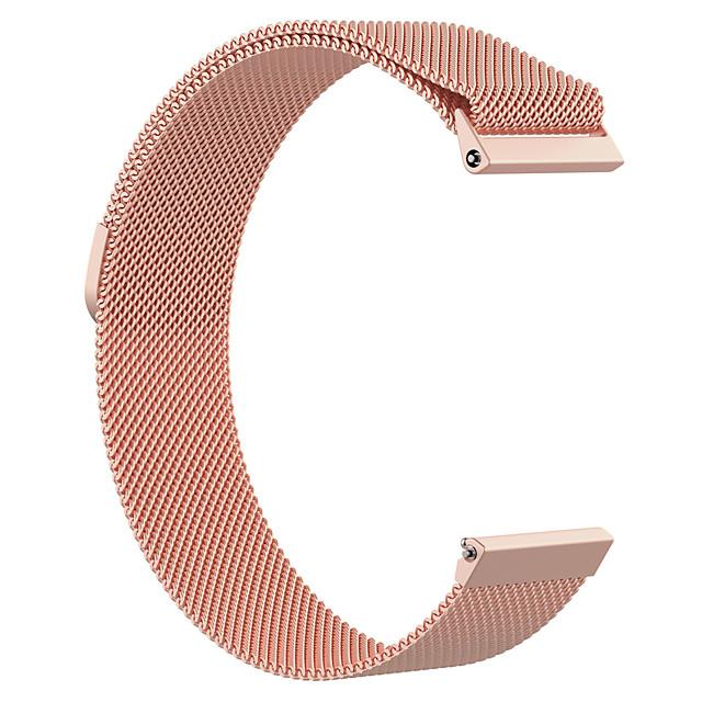 pasek do zegarka Fitbit versa / Fitbit versa lite / Fitbit versa 2 Fitbit Milanese Loop Pasek na rękę ze stali nierdzewnej