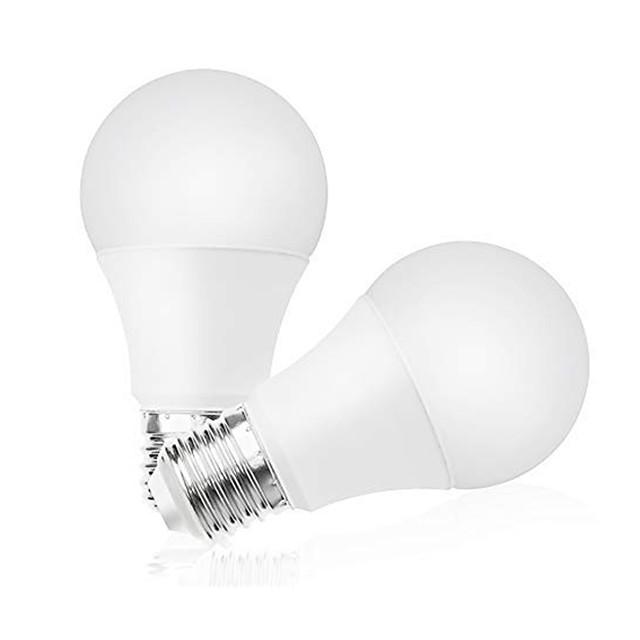 2pcs 9 W Ampoules Globe LED 860 lm E26 / E27 A60(A19) 45 Perles LED SMD 2835 Adorable Blanc Chaud Blanc Froid 100-240 V / RoHs