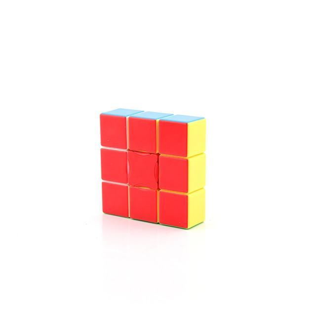 Ensemble de cubes de vitesse 1 pcs Cube magique Cube QI YongJun D911 1*3*3 Cubes Magiques Casse-tête Cube Jouets de bureau Adolescent Jouet Cadeau