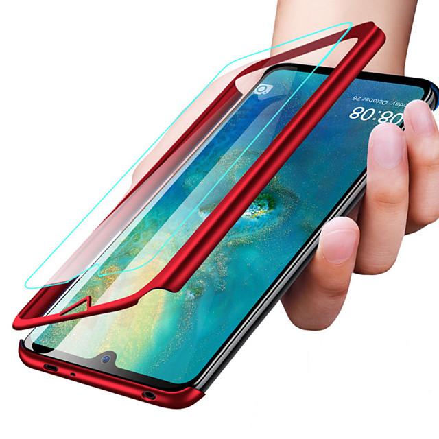Case สำหรับ Xiaomi Xiaomi Redmi Note 5 Pro / Xiaomi Redmi 6 Pro / Xiaomi Redmi Note 7 Shockproof / Ultra-thin / Frosted ตัวกระเป๋าเต็ม สีพื้น Hard พีซี / Xiaomi Redmi Note 4X