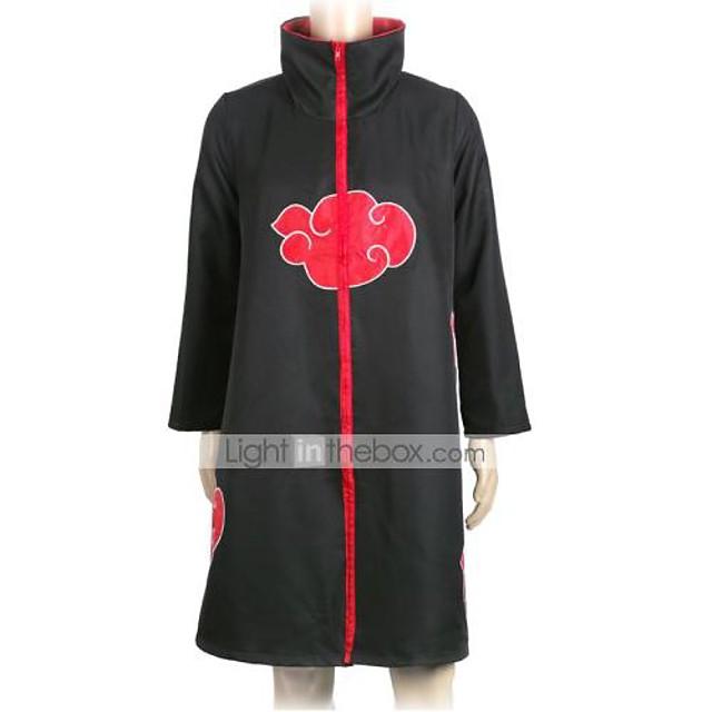 แรงบันดาลใจจาก Naruto Naruto Uzumaki การ์ตูนอานิเมะ คอสเพลย์และคอสตูม ญี่ปุ่น ชุดคอสเพลย์ N / A เสื้อคลุม สำหรับ ทุกเพศ