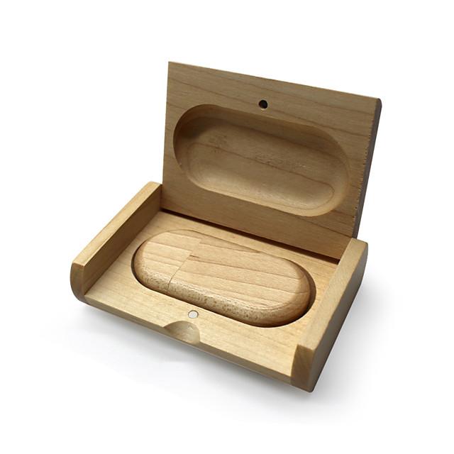 Ants 128GB clé USB disque usb USB 2.0 Bois / Bambou Irrégulier wooden gift box