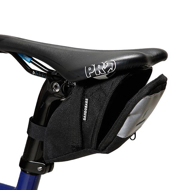 SAHOO 1 L 자전거 새들 백 사이클링 야외 견고함 자전거 가방 테릴렌 싸이클 가방 싸이클 백 사이클링 야외운동 스쿠터