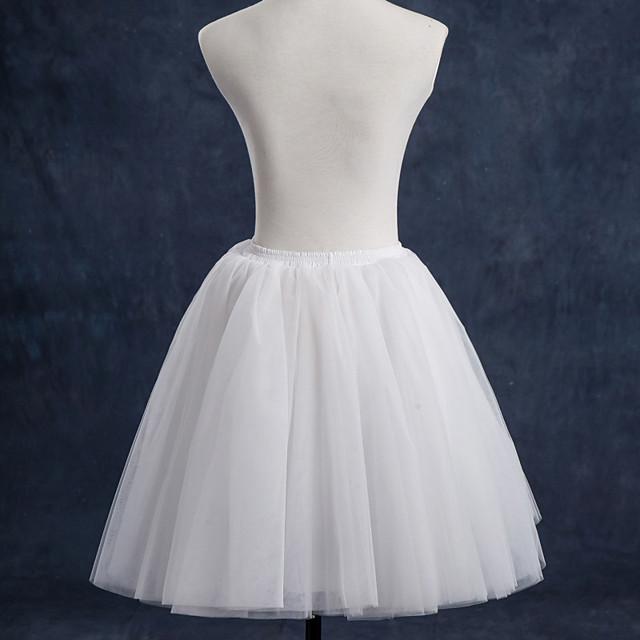 Danse classique Classic Lolita Années 50 robe de vacances Robe Jupon Tutu Crinoline Femme Fille Tulle Costume Blanche / Noir / Violet Vintage Cosplay Soirée Utilisation Princesse