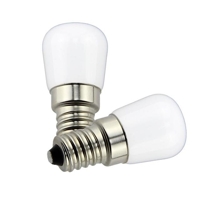2pcs 1.5 W LED 글로브 전구 85 lm E14 T22 1 LED 비즈 SMD 장식 러블리 따뜻한 화이트 차가운 화이트 220 V (110)