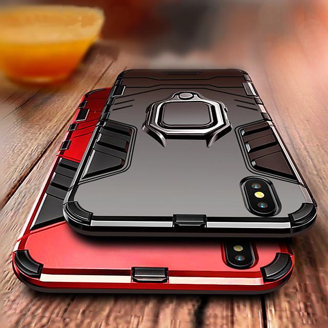 Custodia Per Apple iPhone 11 / iPhone 11 Pro / iPhone 11 Pro Max Resistente agli urti / Supporto ad anello Per retro Armatura Resistente PC