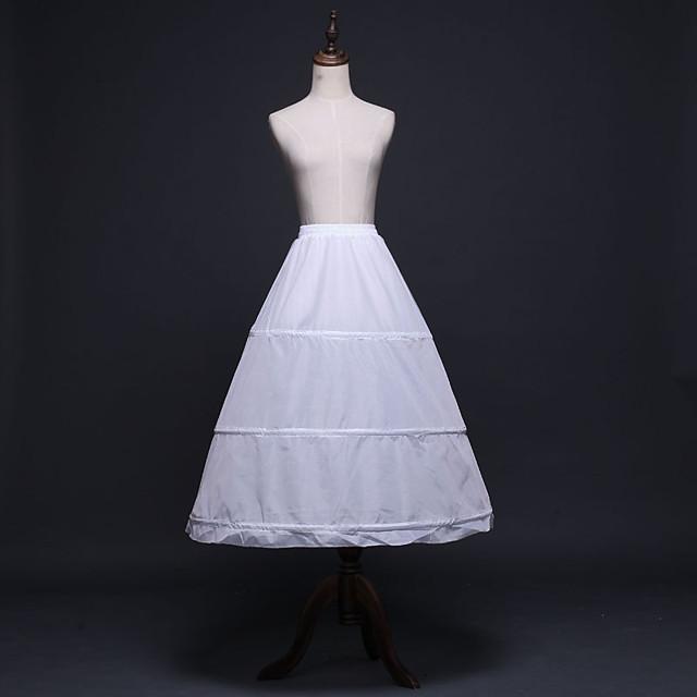 Panna młoda Classic Lolita Lata 50. Warstwy materiały sukienka na wakacje Sukienka Spódnica Krynolina Damskie Dla dziewczynek Kostium Biały Postarzane Cosplay Ślub Impreza Księżniczka