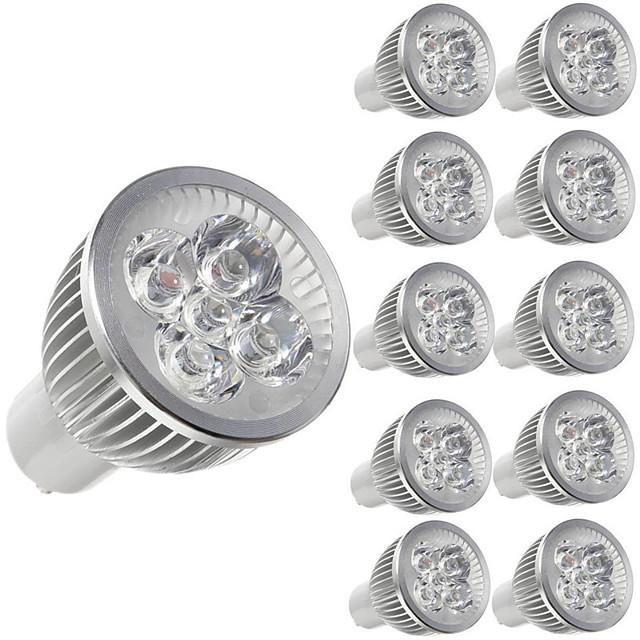10 pièces 5 W Spot LED 450 lm E14 GU10 GU5.3 5 Perles LED LED Haute Puissance Décorative Blanc Chaud Blanc Froid 85-265 V