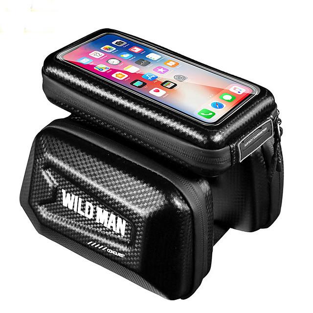 Sac de téléphone portable Sacoche de Guidon de Vélo 6.2 pouce Cyclisme pour iPhone 8 Plus / 7 Plus / 6S Plus / 6 Plus iPhone X Noir Cyclisme / Vélo
