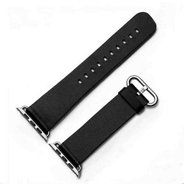 Watch Band for Apple Watch Series 5/4/3/2/1 Apple Classic Buckle Genuine Leather Wrist Strap