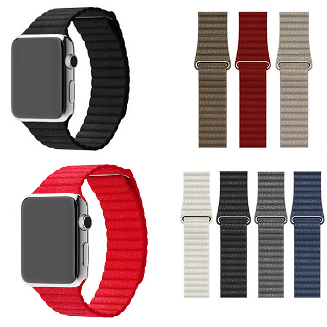 watch band for Apple Watch serien 4/3/2/1 Apple Leather Loop Leather Wrist Strap
