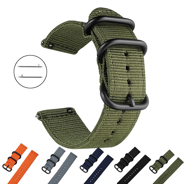 Bracelet de Montre  pour Huawei Watch GT / Watch 2 Pro Huawei Bracelet Sport Tissu / Nylon Sangle de Poignet
