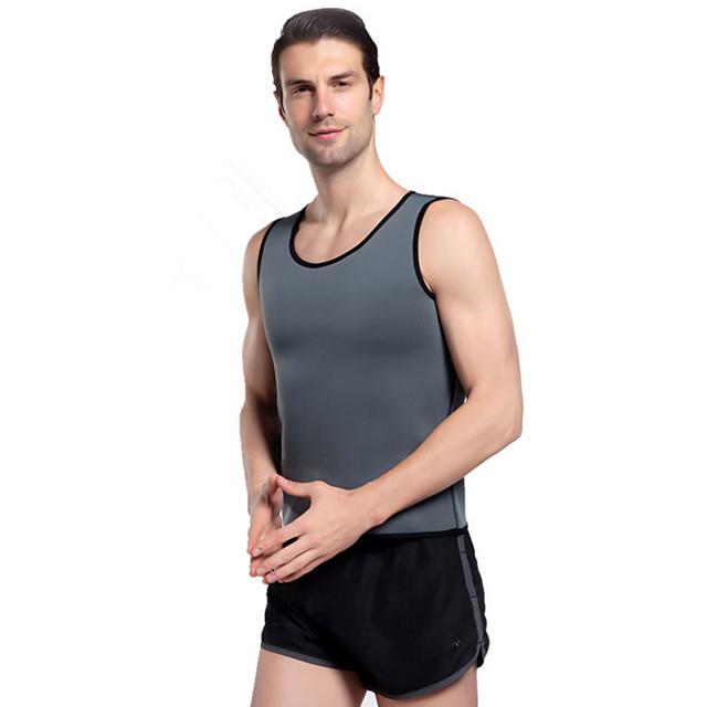 Homme Débardeur à Lanière Couleur unie Fitness Débardeur Sans Manches Tenues de Sport Séchage rapide Anti-transpiration Micro-élastique Mince