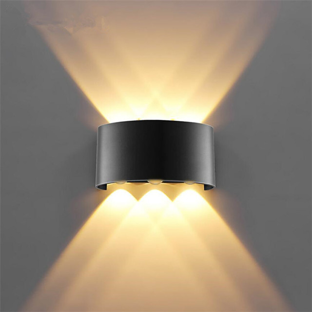 ONDENN Rezistent la apă LED / Modern contemporan Becuri de perete Interior / Exterior Metal Lumina de perete IP 65 85-265V 1 W