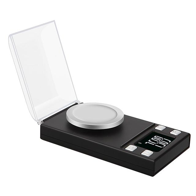 0.005g 50g alta precisione laboratorio laboratorio equilibrio di peso gioielli diamante erbe grammi oro digitale bilance elettroniche