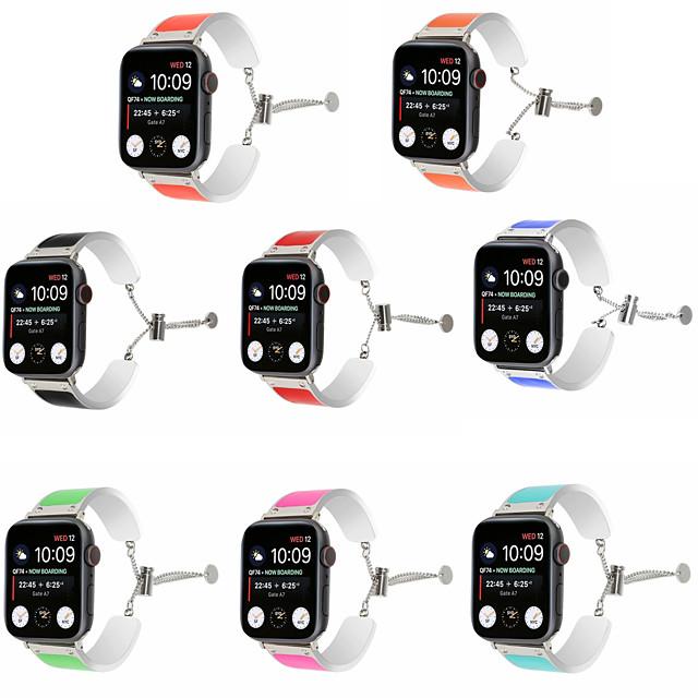 Pasek do zegarka Apple Watch Series 5/4/3/2/1 Apple Jewelry Design Pasek ze stali nierdzewnej
