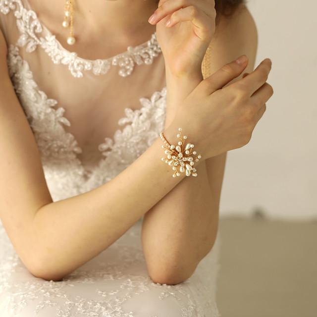 Bracelets Vintage Femme Classique Etoile Elégant Mode Bracelet Bijoux Dorée Forme de Cercle pour Mariage Soirée Fiançailles