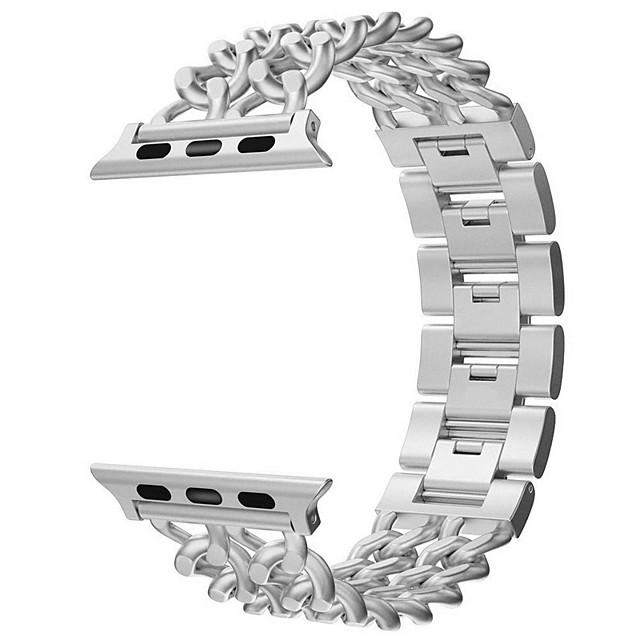 Ремешок для часов для Серия Apple Watch 5/4/3/2/1 Apple Дизайн украшения Нержавеющая сталь Повязка на запястье