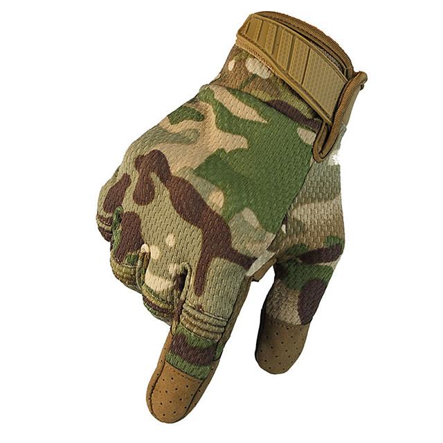 унисекс перчатки для полных пальцев из углеродного волокна / из шерсти теплый / воздухопроницаемый / солнцезащитный крем