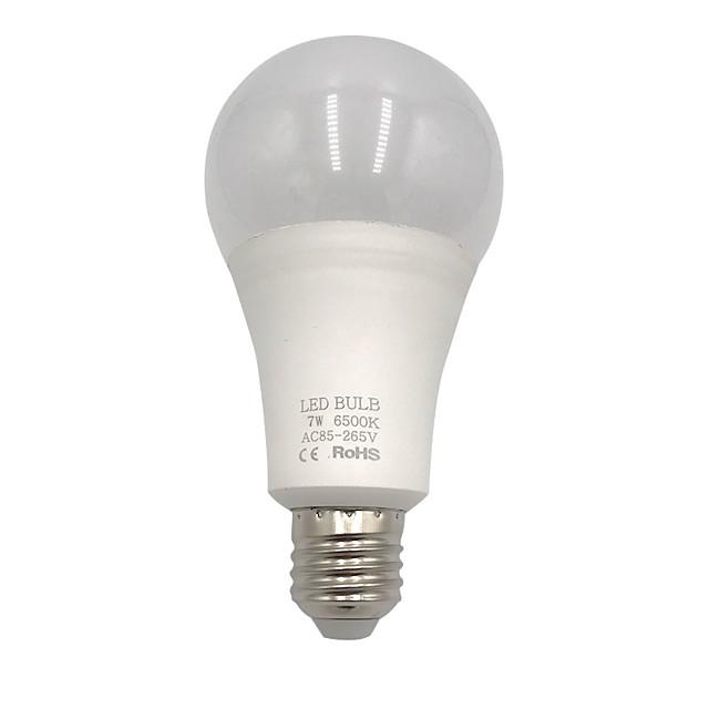 BRELONG® 1 buc 7 W Bulb LED Glob 900 lm E26 / E27 7 LED-uri de margele SMD 2835 Creative Decorativ Cool 85-265 V