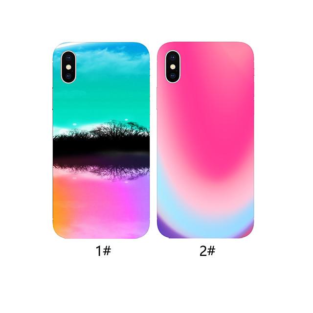 case voor apple iphone xr / iphone xs max patroon achterkant voedsel zachte tpu voor iphone x xs 8 8 plus 7 7 plus 6 6 plus 6 s 6 s plus