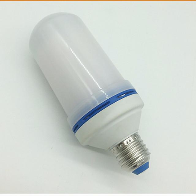 1pc 7 W Ampoules Maïs LED 310-410 lm E26 / E27 108 Perles LED Blanc Chaud 85-265 V