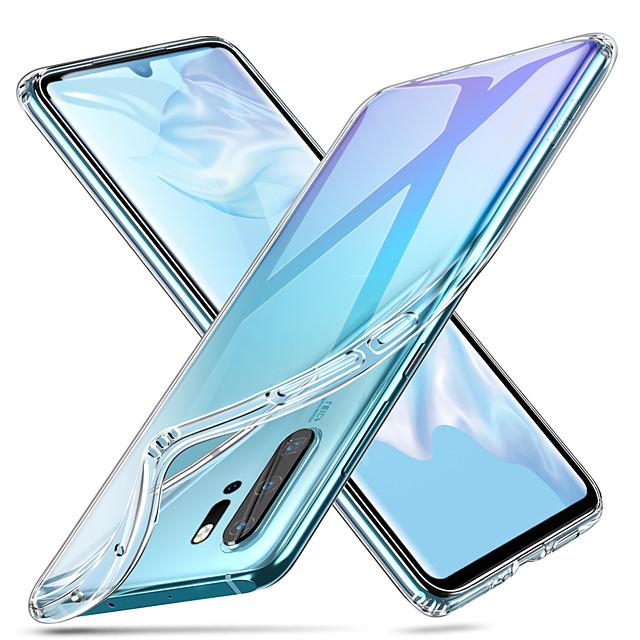 Custodia Per Huawei Huawei P20 / Huawei P20 Pro / Huawei P20 lite Resistente agli urti / Ultra sottile / Transparente Per retro Tinta unita Morbido TPU / P10 Plus / P10 Lite / P10