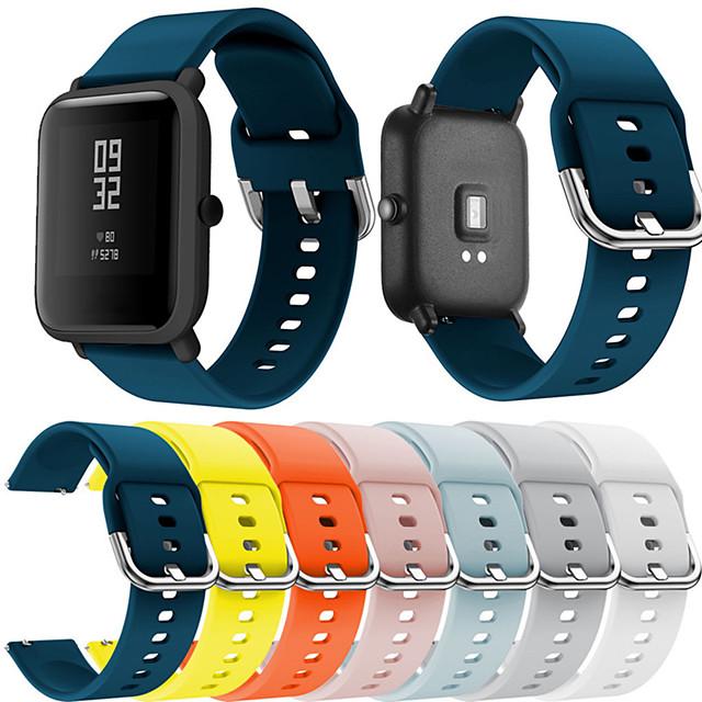Bracelet de Montre  pour Huami Amazfit Bip Younth Watch Xiaomi Bracelet Sport Silikon Sangle de Poignet