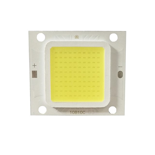 1 buc 5buc de mare putere real 20w 30w 50w led cob lampa cip alb cald natural alb și alb pentru diy lumină de inundație reflector dc30-34v
