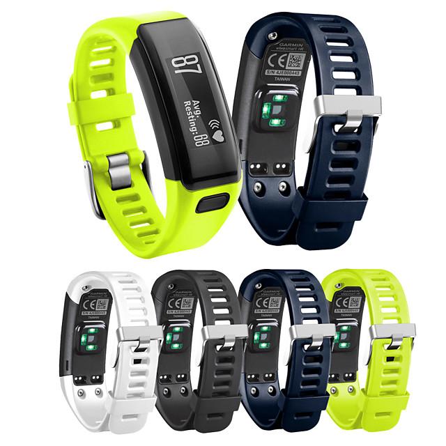 Ремешок для часов для Vivosmart HR Garmin Классическая застежка силиконовый Повязка на запястье