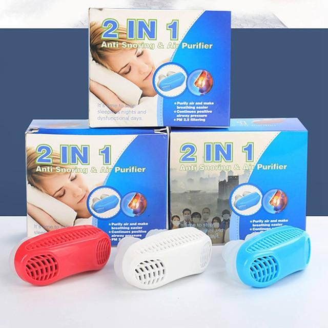 Pomoć potiv hrkanja Hrkanje čep Improving Sleep Putni jastuk Prestanite hrkati Mini Veličina 1 komad Uporaba Muškarci Žene