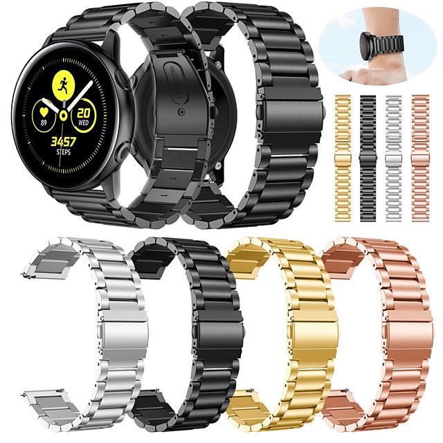 Watch Band na Samsung Galaxy Active Samsung Galaxy Pasek sportowy Metal / Stal nierdzewna Opaska na nadgarstek